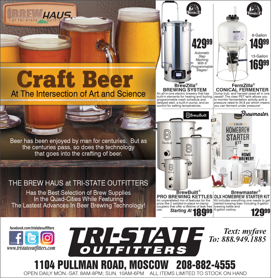 Moscow – The BREWhaus at Tri-State Outfitters