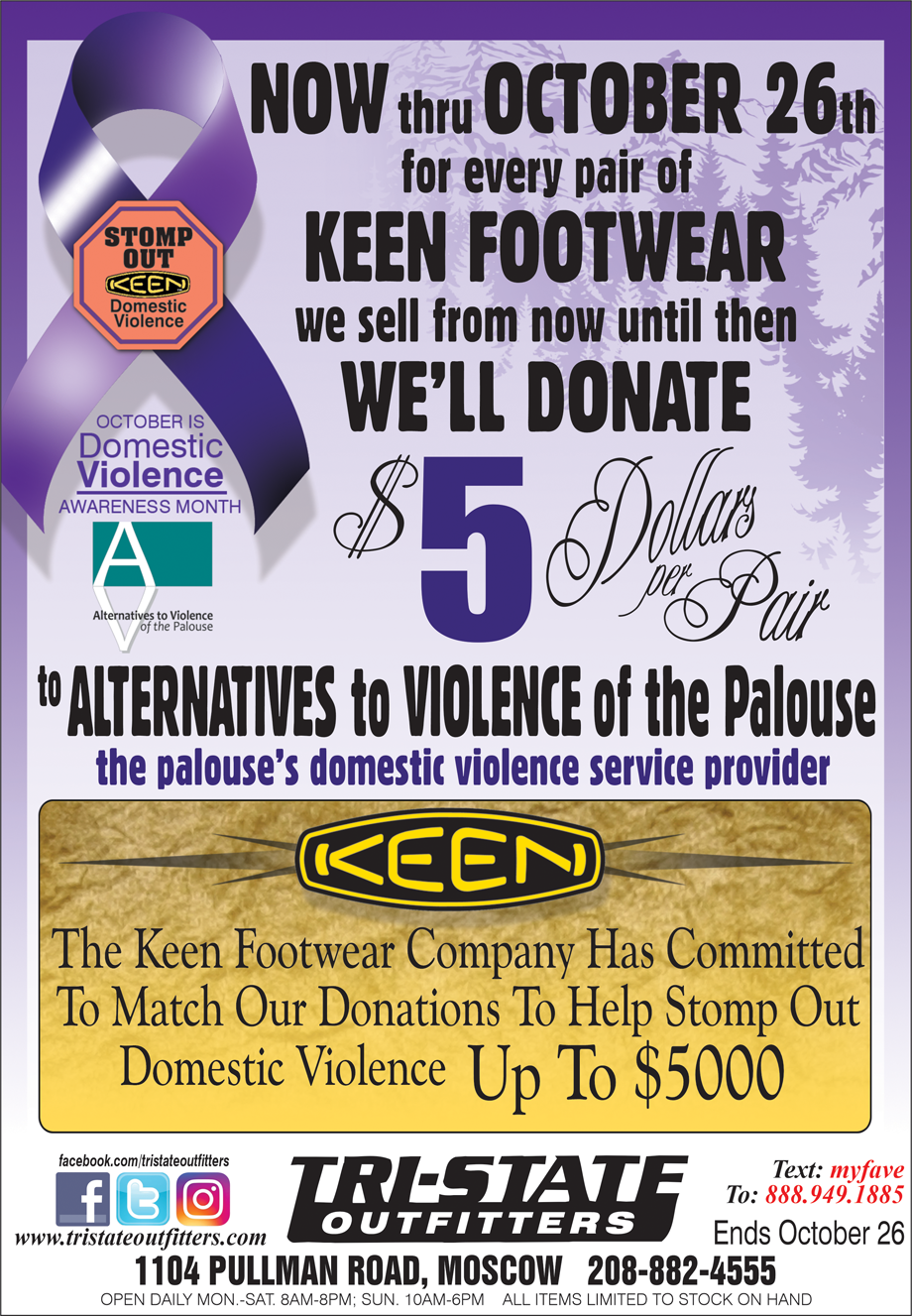 Moscow – Keen Footwear $5 Donation